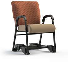 "Royal EZ Assisted Living Mobility Dining Chair.  Armed, 20"" Wide Seat"