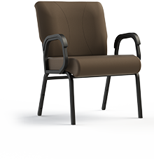 "Titan 941-24 Assisted Living Lobby & Common Area Chair.  Armed, 24"" Wide Seat"