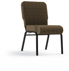 "Enclosed Back, 20"" Side Chair"