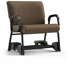 "Titan 941CAS-30 Bariatric Chair with Casters.  Armed, 30"" Wide Seat"